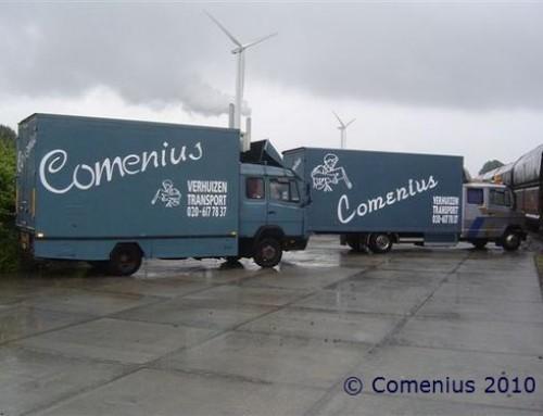 Bakwagens Comenius verhuisservice