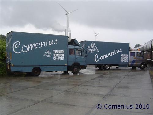 mb 814 en mb 809 Comenius verhuisservice